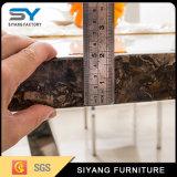 6人が付いている中国の家具の大理石のダイニングテーブル