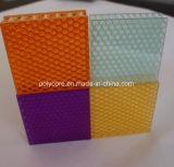 装飾的な光学蜜蜂の巣のボード