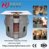 GW-5t de Smeltende Oven van de Oven van de inductie voor het Zilveren Staal van het Metaal van het Ijzer
