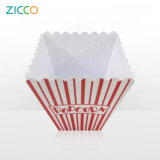 """7.5 """" Vat van de Popcorn van de Melamine het Vierkante"""
