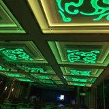 Manier en Licht van het Plafond van Decoracive Squre het Gouden met Hal