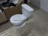 9001 Экономического санитарных Ware, маленький туалет, дешевые раунда Siphonic туалет из двух частей