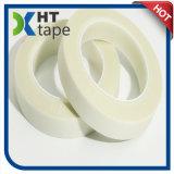 Matériau d'isolation enduit adhésif de bande de tissu en verre de silicones pour le transformateur