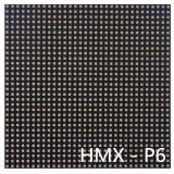 P6 SMD LED Cores interiores tela HD