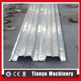 Hoja del panel de la cubierta de suelo de acero que hace el balanceo que forma la máquina