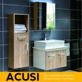 De Amerikaanse Eenvoudige Moderne Ijdelheid van de Badkamers van de Stijl Stevige Houten (ACS1-W02)