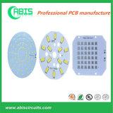 PCB de alumínio personalizado para luz LED.