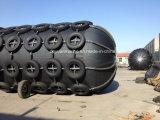 Fender de borracha pneumática com pneus e correntes com bom preço