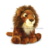 Lion jouet en peluche Soft Kids Doll Forêt de gros animaux sauvages lion en peluche