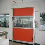 絶縁された急速な絶縁体の圧延のドア(HF-134)