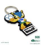 선전용 선물 PVC 물자 USB 열쇠 고리 (W-24)
