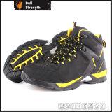 Oriente Cortar Nubuck cuero con suela de zapato de seguridad de la mezcla (SN5439)