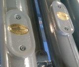 Illuminazione palo esterna piegata 6m grigia della lampada di colore LED