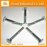 Tornillos cuadrados cortos principales planos del rodamiento DIN603/Coach del tornillo del cuello