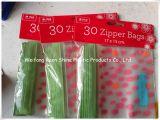 Eco Friendly jetables petit sac en plastique PVC à fermeture ZIP