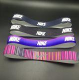 Напечатанный держатель Antislip Hairband спортов цвета или конструкции
