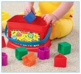 El bebé brillante de los fundamentos primero bloquea la nueva edición multicolora