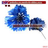 人工花の絹の球形ヘッドバルクホーム党結婚式の装飾(G8096)