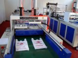 Einzelne Zeile heißer Ausschnitt-Shirt-Beutel, der Maschine mit Stanzeinheit (SSH-900D, herstellt)