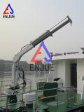 Elektrische hydraulische teleskopische Hochkonjunktur, die Maschinen-Lieferungs-Plattform-Kran hochzieht