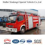 4ton de Vrachtwagen Euro2 van de Brand van de Tank van het Schuim van Dongfeng