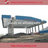 Diseño de la estación de gas grande-Span Espacial galvanizado de acero ligero Frame