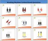 Функция щетки углерода/щетка углерода и установленный держатель щетки углерода/щетка углерода металла для малого моющего машинаы пользы углерода в форме графита