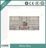 Waterproof IP44 Metal Electricity Meter Box / Single Eight Position Meter Box