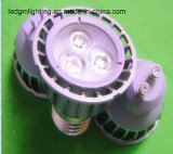 Luz del punto de la luz 12V/24V 6W8w10W LED del punto del alto brillo MR11/MR16/GU10/Gu5.3 LED