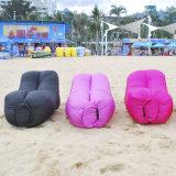 Sac de couchage paresseux de seul sofa gonflable de l'air 2017 avec le modèle de Lazyback
