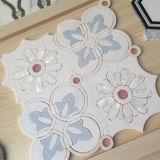 Мозаика 12 x 12 греков мраморный покрашенная водоструйная мраморный с плиткой раковины декоративной