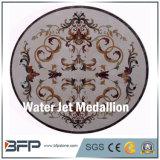 고품질 대리석 둥근 모자이크 타일 지면 큰 메달 지면 패턴