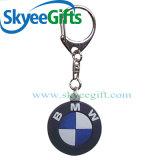 Insignia modificada para requisitos particulares Keychain del PVC para el regalo promocional