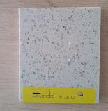 Pedra artificial de quartzo de Junde com brilho de vidro grande para a telha de assoalho, bancada
