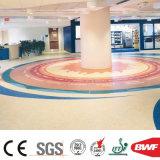 De zachte Stevige VinylBevloering van de Vloer van pvc Mr1003 van de Kleur Lichtrose Commerciële voor Toonzaal 3.2mm van de Kleuterschool