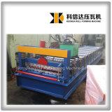 Rolo de aço da cor Kxd-836 de cartão ondulado que dá forma à telha de telhado da máquina que dá forma à máquina