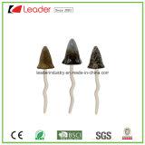 Сад мини керамические изделия ручной работы грибы - набор из трех