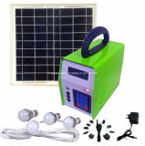 Освещение портативной солнечной домашней осветительной установки Микро--Решетки 10W напольное
