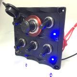 Boots-Wohnwagen LED imprägniern 6 Gruppe-Wippenschalter-Panel