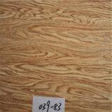 Fornecedor de couro impresso sintético do PVC para as cadeiras do café (HS039#)