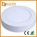 quadratische runde Decken-Lampen-Instrumententafel-Leuchte LED der Vorrichtungs-12W