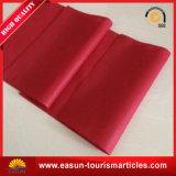 빨간색 $ 고객의 로고를 가진 호텔 베개 덮개