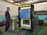 (STD-640-14) fornalha de resistência 1400c elétrica em forma de caixa industrial com aquecimento do SIC Rod