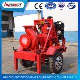 Bomba agricultural/industrial de 4 polegadas da água do motor