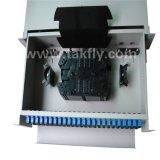 FTTH 96 포트 Slidable 선반 마운트 광섬유 패치 패널