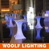 LED 사는 연한 색 변경 커피용 탁자