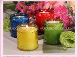 Candela domestica profumata della cera, candela della paraffina del regalo