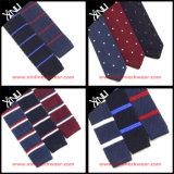 Moda de los hombres de seda Venta al por mayor China fábrica Tricot Polyester Knitted Corbata