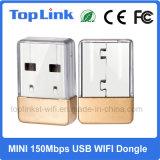 Mini 150Mbps Mediatek Mt7601 soporte nano Ap suave del Dongle del USB WiFi de la radio de Top-7A05 con código fuente del linux