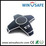 Voice Software Teleconferência Microfone Áudio e videoconferência USB Microfone